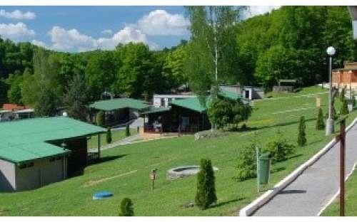 Chatová osada Bítov - Vranovská přehrada