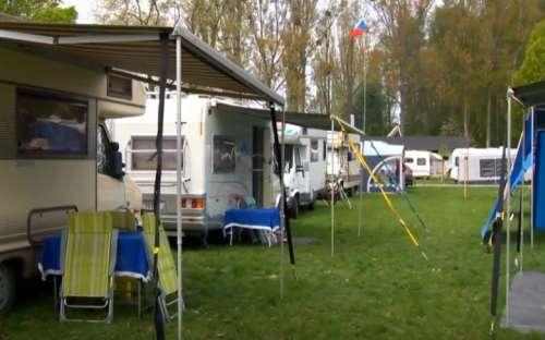 Camp Morava - karavany, stany