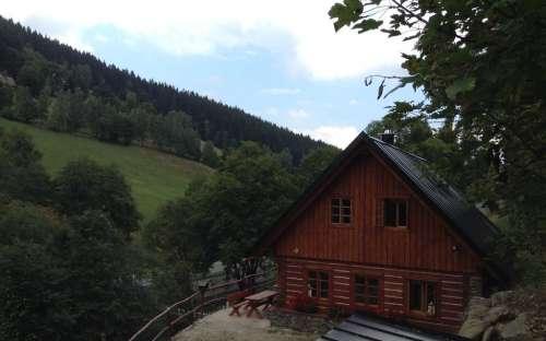 Roubená chata U Milánka, Krkonoše - Královéhradecko