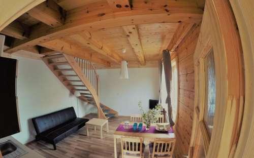Roubená chata Třeboň