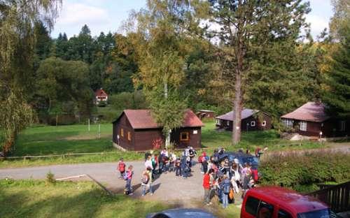 Kemp chaty Sázava - Střední Čechy