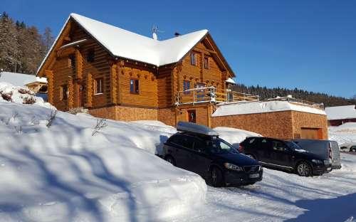 Cottage Kašparaci - hiver