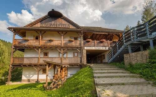 Stijlvolle Wallachische huisjes Kyčerka - Beskydy