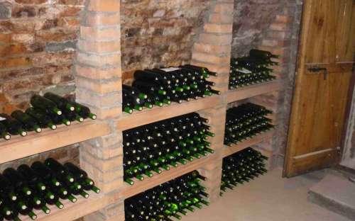 Vinný sklep Monty Morkůvky - chaty jižní Morava