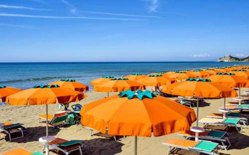 Pláž kempu Santapomata
