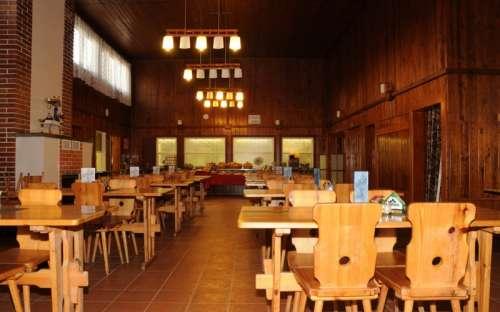 Sport kemp Doubí - restaurace