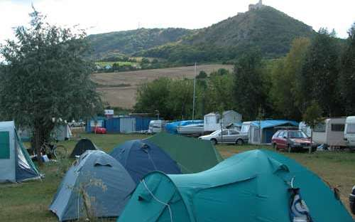 Camp Pavlov - Zelten