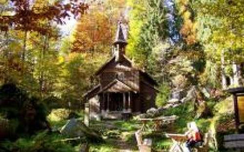 Camping und Gästehaus in der Nähe von Mauritz - Stožec-Kapelle