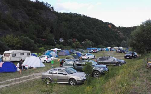 Kem et le camping U jezu - Račice