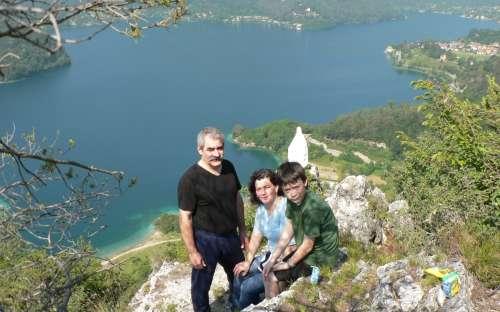 Itálie - jezero Ledro