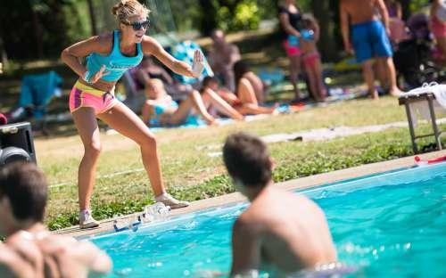 Zdravotné cvičenie Aquazumba