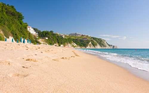 Beautiful beaches in Bulgaria