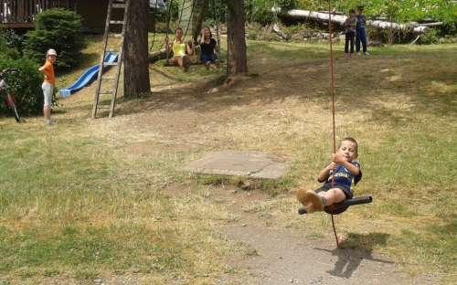 Camp Karolina - dětské hřiště