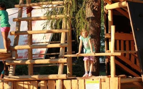 Camping Karolina - dětské hřiště
