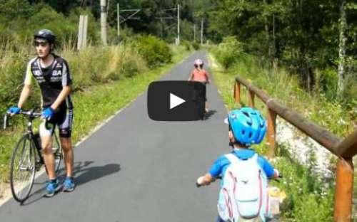 Cyklovýlet Cheb - K.Vary s dětmi