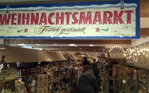 クリスマスマーケット - ドイツ、Schwarzenberg