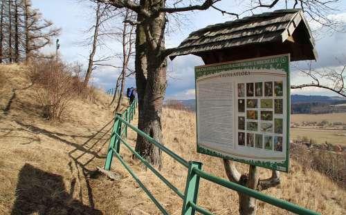 Informacni tabule - Uhlirsky vrch