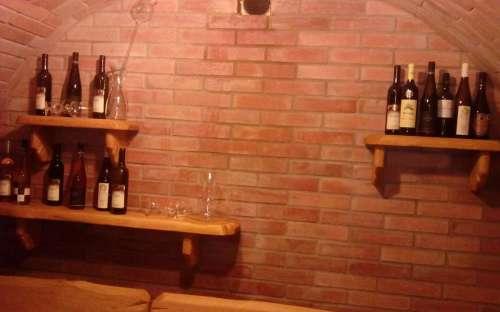 Ondrášův dvůr areál - vinárna