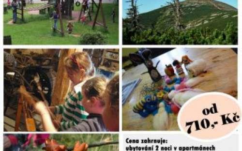 Školy v přírodě - kemp dolce slevy