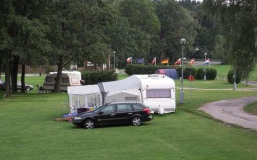 Autocamp Slunečná - karavany