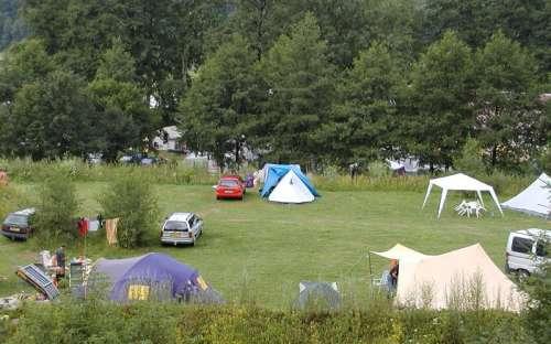Autokemp Slunečná - tents, caravans