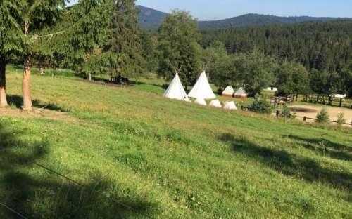 Kemp U Mairutzů - telt