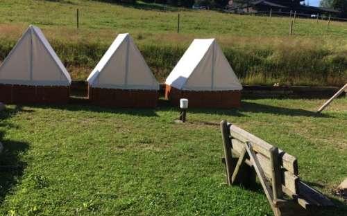 Camping U Mairutzů - Zelte