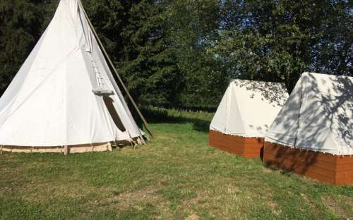 Camping U Mairutzů - Tipi