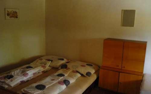 Sypialnia na parterze dla 5 osób