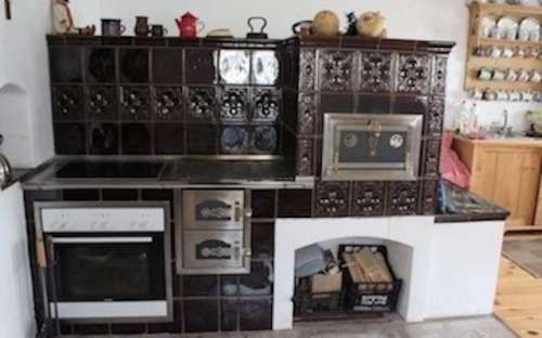 Stylová selská kuchyně s pecí