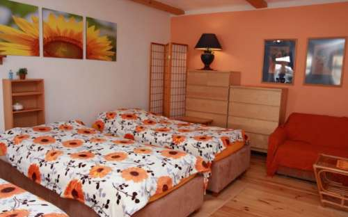 Nový pokoj v přízemí 3 lůžka