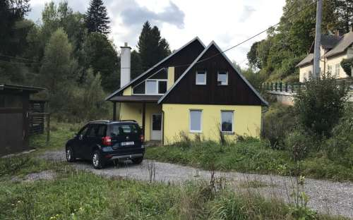 Nová zrekonstruovaná chata Lampertice, okres Trutnov