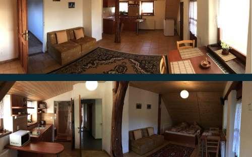Obývací pokoje v patrech