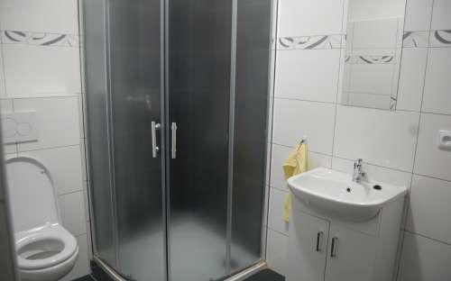 Koupelna apartmánu č. 1