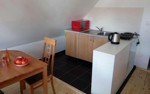 Kuchyně apartmán č. 6