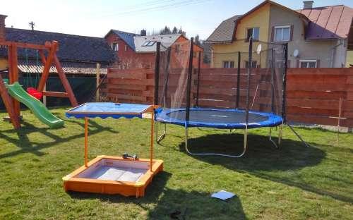 Využití pro děti v penzionu, vile Pavlínce