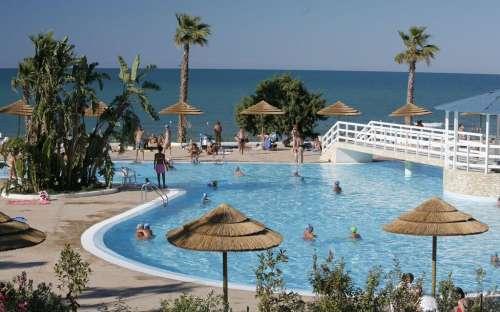 Bungalov u bazénu - Villaggio Internazionale, Itálie
