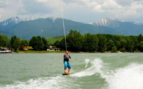 Camping Liptovska Mara - water attractions