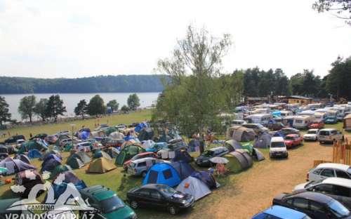 Camping plage de Vranovská - camping