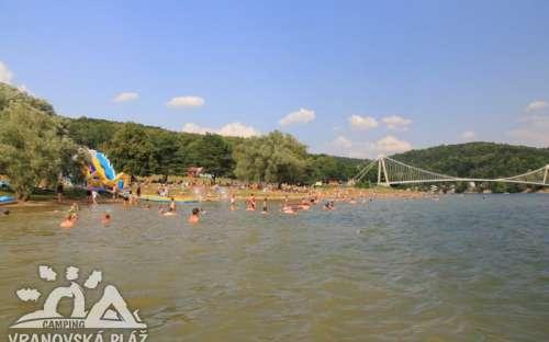 Plage du camping Vranov - Vranov