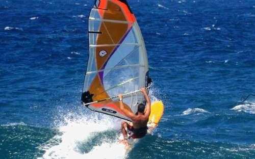 Camping Rocchette - windsurfing