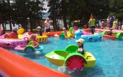 Kemp Liptovska Mara - vodni atrakce pro deti