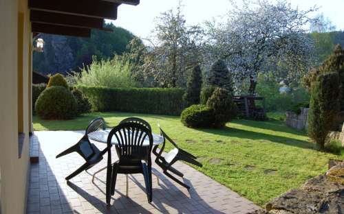 Apartmány II. - zahrada
