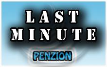 Last Minute penzion - ubytování 2016