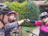 Met de fiets - camping Karolina - regio Pilsen