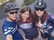 Mit dem Fahrrad Plzeňsko - Hromnické jezero