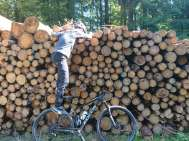 自転車の取り付け方法