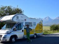 Caravan per il fine settimana