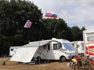 Frankrijk kampeerders ontmoeten