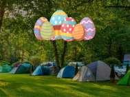 Pasen op de camping Rozkoš